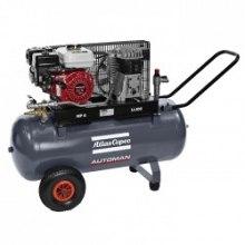 10 BAR - 100 L - 330 L/MIN Atlas Copco Automan AC 55 E 100 Petrol
