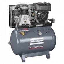 14 BAR - 270 L - 750 L/MIN Atlas Copco Automan AC 100 T 270 Petrol