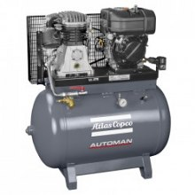 14 BAR - 270 L - 540 L/MIN Atlas Copco Automan AC 110 T 270 Diesel 2kVA /plus AGREGAT PRĄDU/